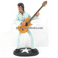 famous singer star Elvis Presley figures in statues and crafts