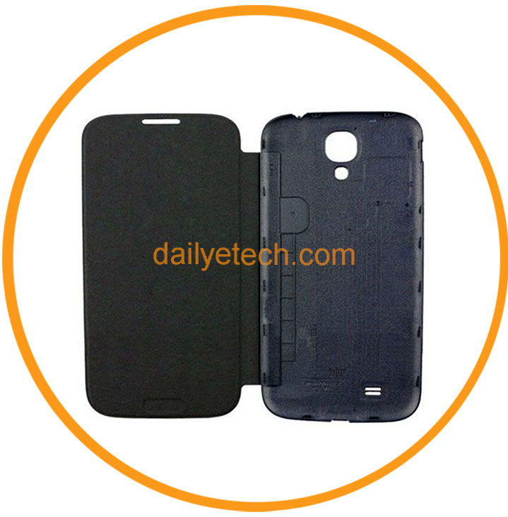 For Samsung Galaxy s4 I9500 IV Battery Back Cover Case Black from Dailyetech