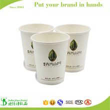 TheBEST Origin wood pulp advertising hot water drink paper cup wholesale