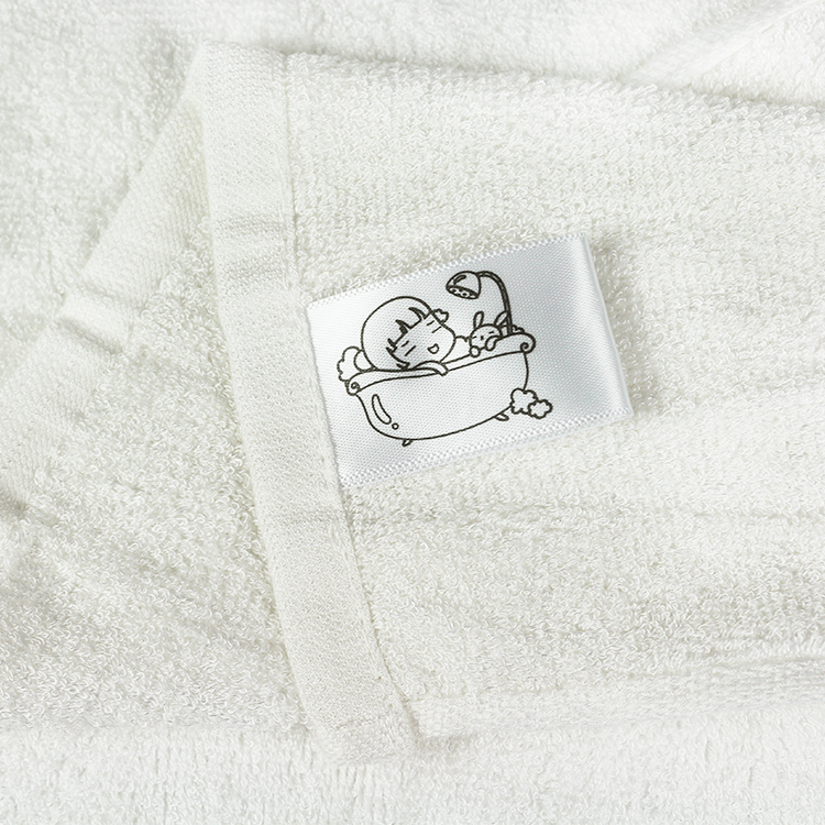"High quality organic bamboo terry washcloths 10""x10"" baby face towel"