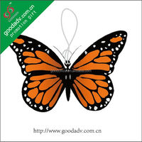 Promotional Gifts butterfly shape hanging car air freshener