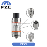 New Arrival!!! Hot Selling Smoktech Cloud Beast Tank 5.5ml/6ml Top Filling Airflow Control Smok TFV8