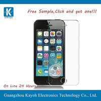 [kayoh] 0.3mm 9H hardness tempered glass screen protector for iphone 5