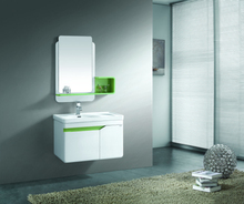 Modern Double Color Bathroom Furniture Design For Apartment