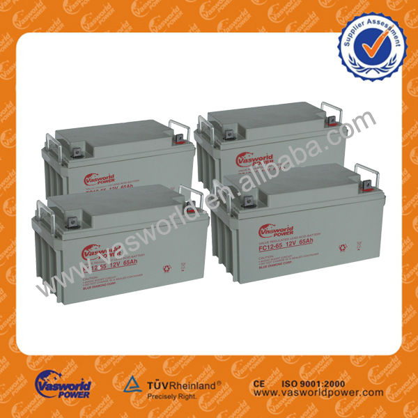 Grey case lead acid battery brand name 12v 65ah Alibaba website