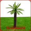 artificial plastic tree / miniature plastic palm trees / model making trees