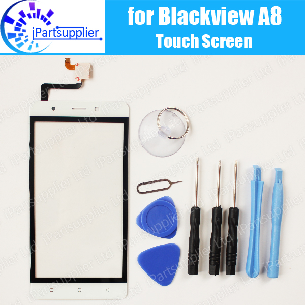 Blackview A8 Touch Screen Digitizer Glass Panel Replacement 100% Original Touch Glass For Blackview A8 +Tools