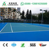 High quality Blue silicon pu sports courts for Tennis Filed