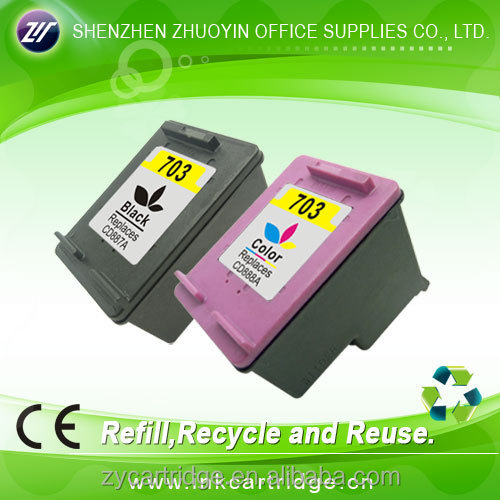 2015 new compatible ink cartridge for hp 703