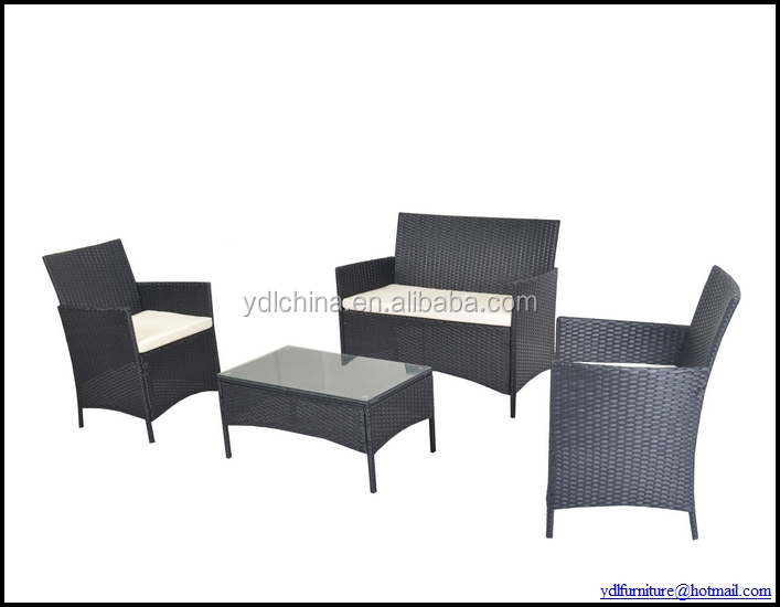 aluminum and rattan wicker furniture YKD-01