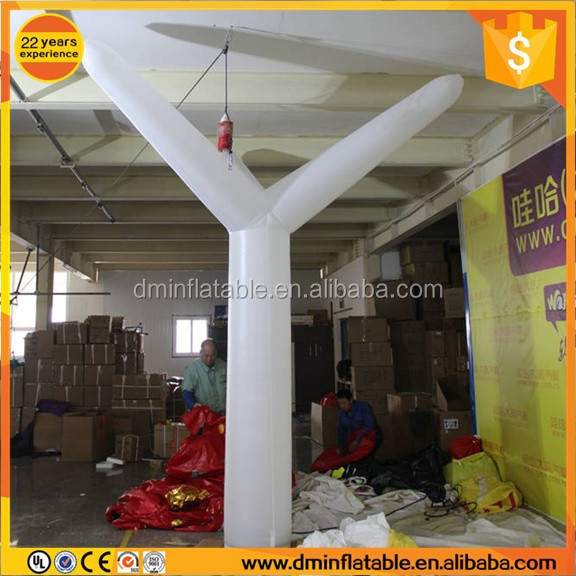 Advertising Inflatable Pillar / Logo Printed LED Lighting Long Tube / Advertisment Inflatable Column