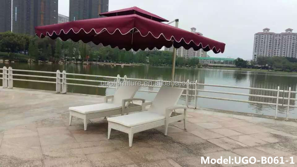modern aluminum chaise lounge outdoor chaise lounge white sun lounge set with umbrella