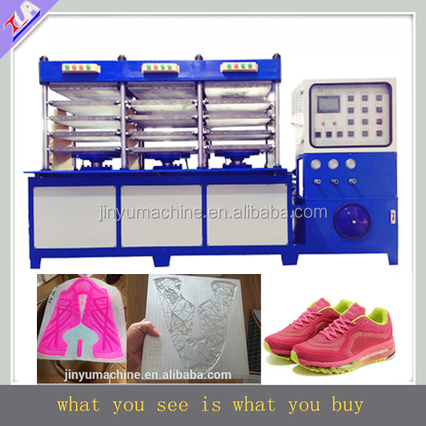 customerized sport vamp making machine/shoes surface equipment/shoe cover production line