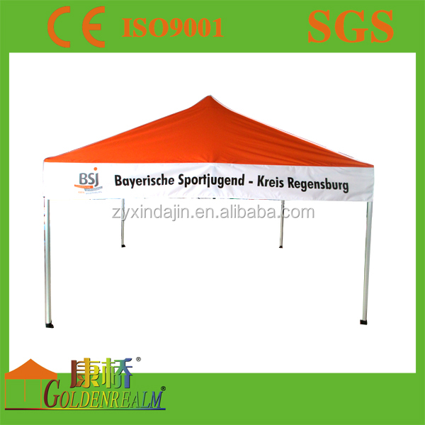 outdoor exhibition easy up gazebo trade show advertising commercial tent