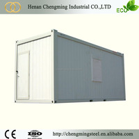 Easy And Quick Assembly Prefabricated Portable Steel Garage Apartment/Elegant Stackable Prefab Steel Container Homse For Sale