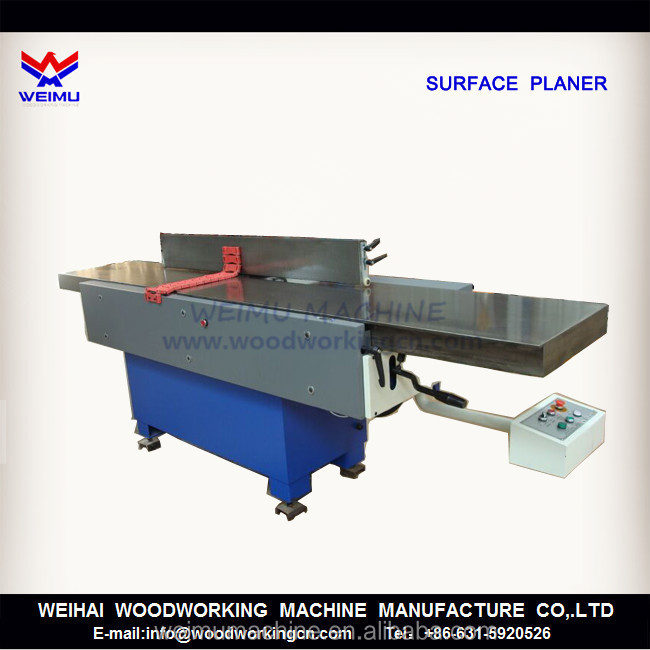 wood jointer surface planer woodworking machine MB505