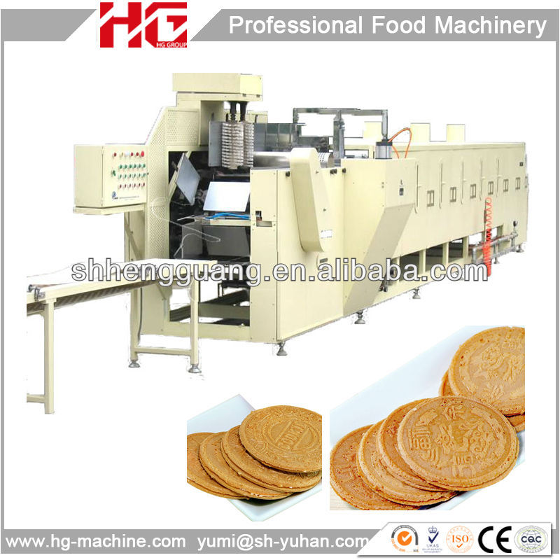Low cost french crepes making machine