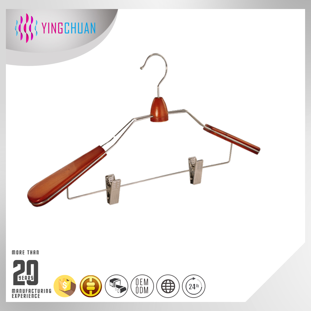 Multifunctional hanger garment display wooden hanger