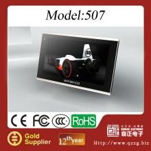 5 inch car gps manufacturer built in 4G memory MTK chipset
