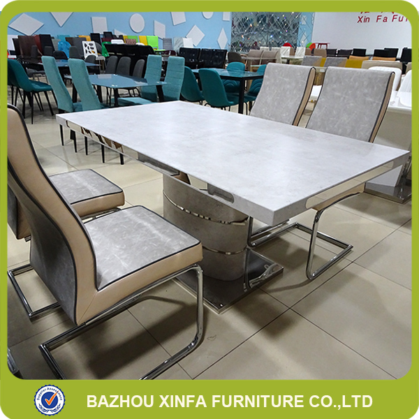Cheap wholesale high quality luxury wooden dining table and chair