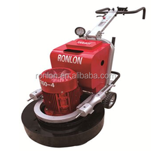 Four heads save 40% time floor grinding and polishing buffer grinder machine