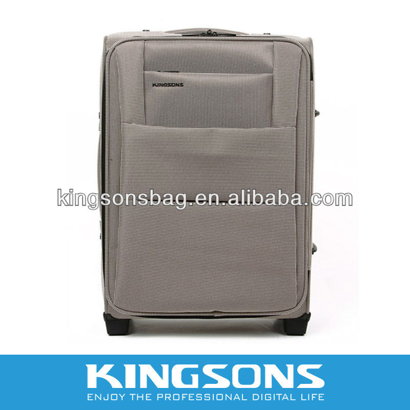 2013 Latest Design Kingsons brand 15.6'' Nylon Trolley laptop bag