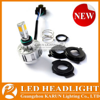 Super Quality 100% Waterproof M3S led motorcycle headlight 32W 3000LM 12v 25/25w motorcycle bulb t19