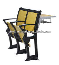 School furniture study table with chair for college FM-B-98