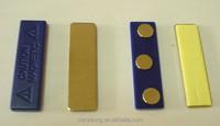 metal magnet clip / Plastic Magnetic badge / magnet back for name badge