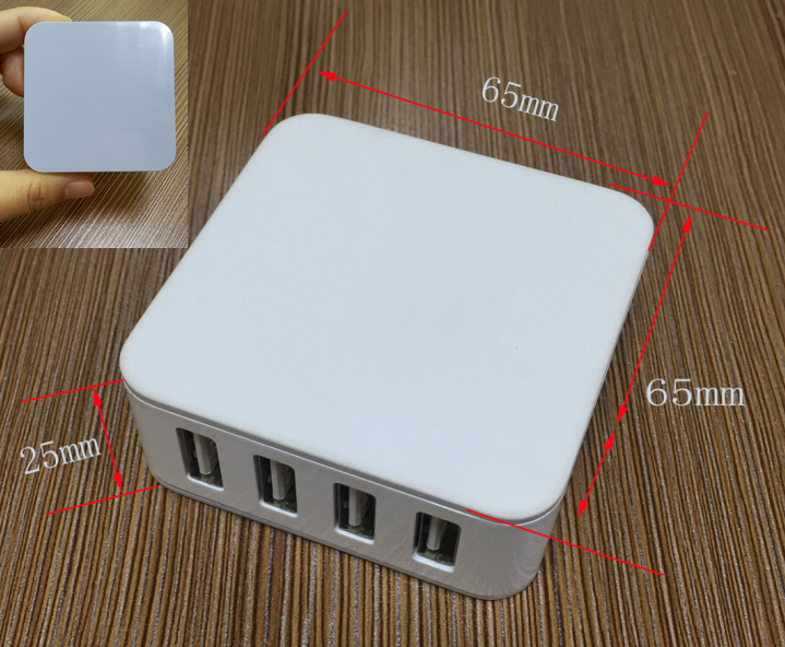 custom android mobile phone 5V 5A charger, mini size usb travel charger with KC CE FCC ROHS