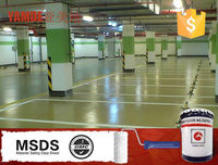 Epoxy resin floor coating for concrete,hot sale