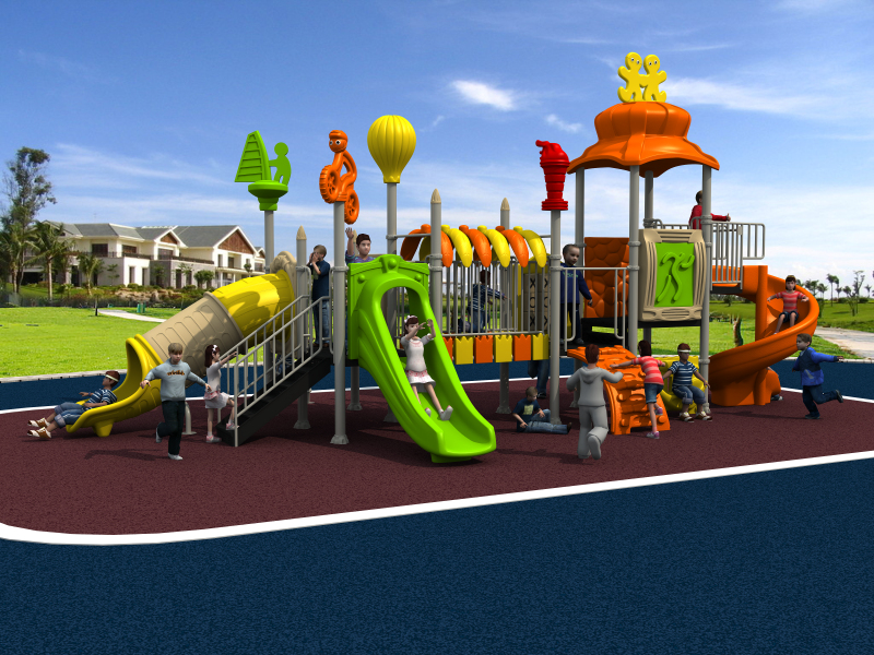 top quality outdoor amusement restaurant equipment playground for park