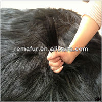 Coat Material Cheap 15cm Long Hair Goat Fur