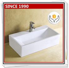 8217 Best quality bathroom rectangular procelain basin