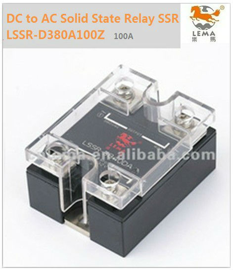 LSSR D380A100Z DC to AC Single Solid State Relay SSR