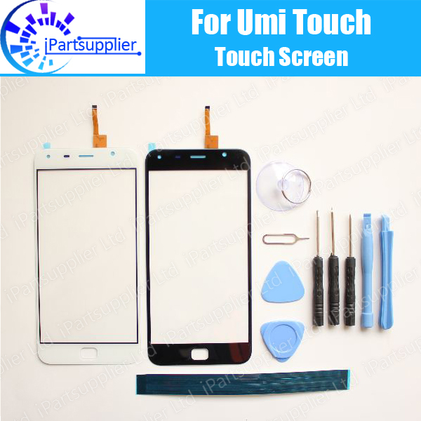 UMI Touch Digitizer Touch Screen 100% Guarantee Original Glass Panel Touch Screen Digitizer For UMI Touch + tools + Adhesive