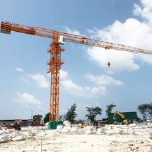 Model 5510 with 6 ton 55 m Boom Length Construction Topless Tower Crane