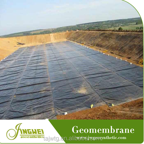 high density polyethylene impervious geomembrane price 1.5mm