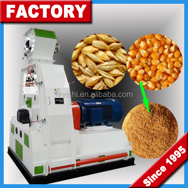 Poultry Feed Mixer Grinder Machine / Animal Feed Grinder Machine