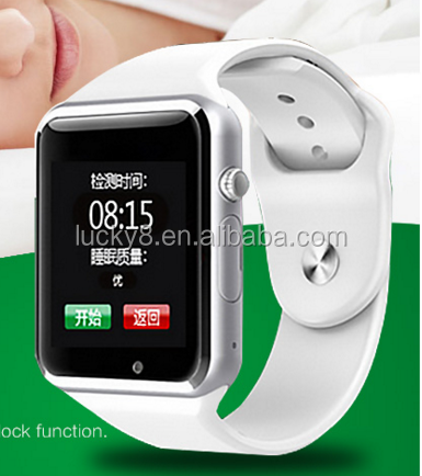 ogs touch screen <strong>A1</strong> V8 Q8 cheap gsm smar watch phone with Comfortable Watch Strap