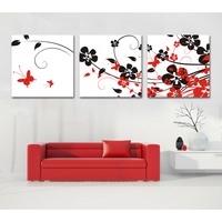 Chinese floral wall decoration wholesale beautiful cheap oil paintings