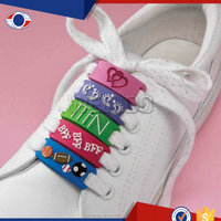 Guangzhou Custom Pvc Shoelace Charm For