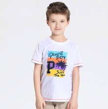 Alibaba China factory new design spring summer 2015 short sleeve printed pure color baby boys clothes organic cotton t shirt