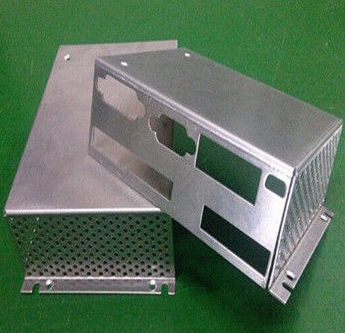 customized Perforated aluminum sheet metal fabrication for computer case