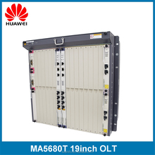 2 slots control card MAX 256 GPON Ports MA5680T Huawei FTTH GEPON OLT
