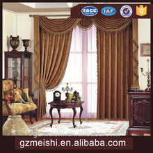 luxury window curtain for hotel rolling window curtain made in China