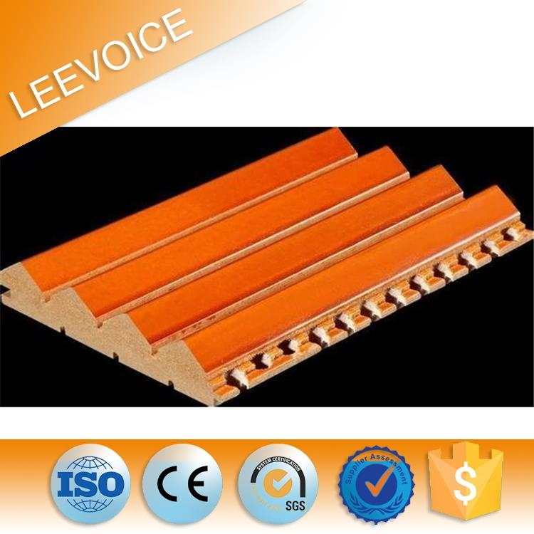 MDF ECO Wood Soundproof two dimension qrd diffuser panel for Auditorium Interior Decoration