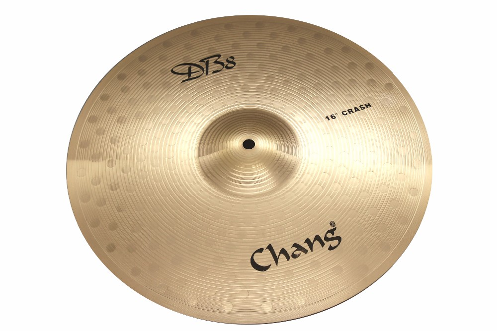 "CHANG Percussion DB8 Bronze 18""Crash Cymbal For Drum Set"