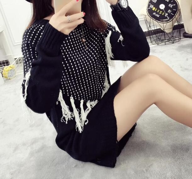 zm32719a fashion sweet girls latest fancy tops ladies womens knit design sweater dresses