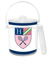 MWB- 030 Hot Sell plastic Ice Bucket With lid -1.5L